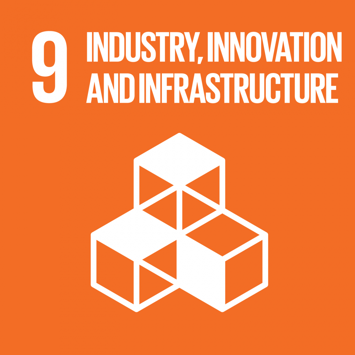 9. SDG: Industrie, Innovation und Infrastruktur